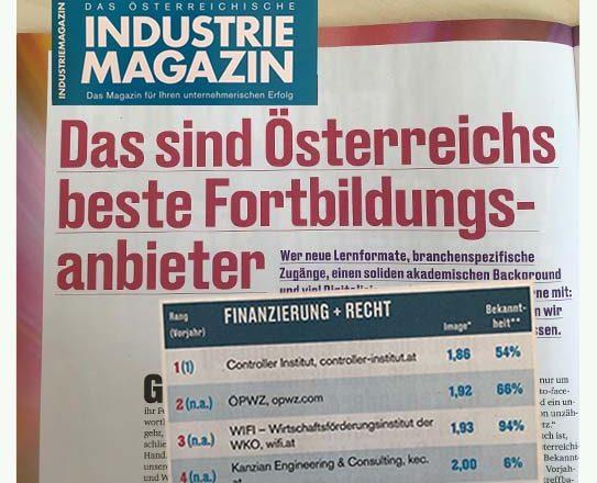 Österreichs beste Fortbildungsanbieter stehen fest – und KEC ist ganz vorne dabei!