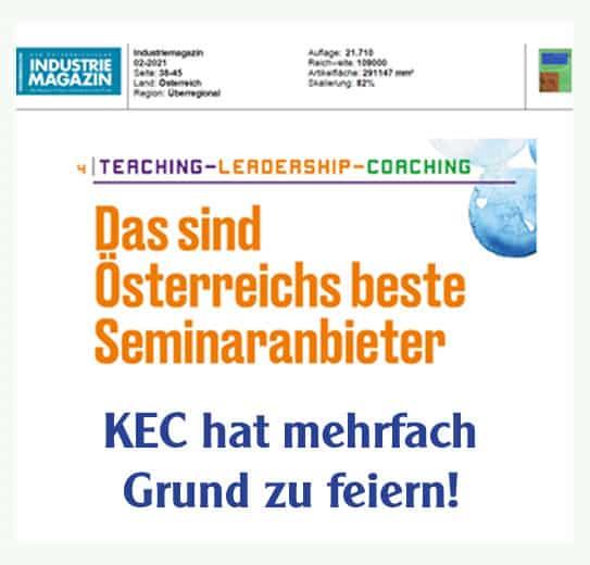 Österreichs beste Aus- und Fortbildungsanbieter stehen fest